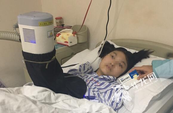 重庆15岁少女患肝癌晚期 家族有乙肝病史但从未注意
