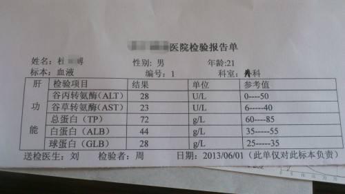 如何看懂肝功能检查结果分析