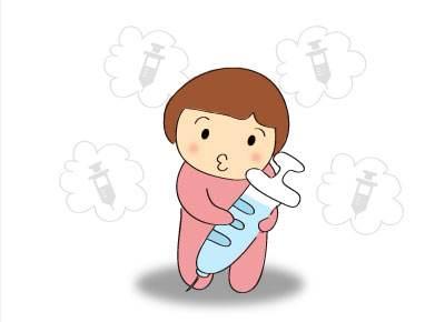 宝宝注射疫苗